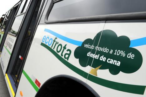 Prefeito de São Paulo quer investir em combustíveis não poluentes para a frota de ônibus